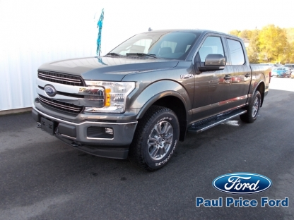 2018 Ford F-150 Lariat SuperCrew 4X4 at Paul Price Ford in Bancroft, Ontario