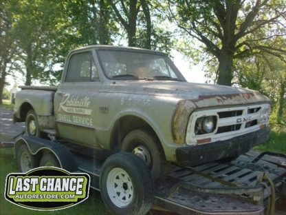 1967 GMC  Stepside Short Box 2 Wheel Drive at Last Chance Auto Restore in Yarker, Ontario