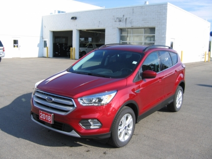2018 Ford Escape SEL EcoBoost 4WD at A&B Ford in Perth, Ontario