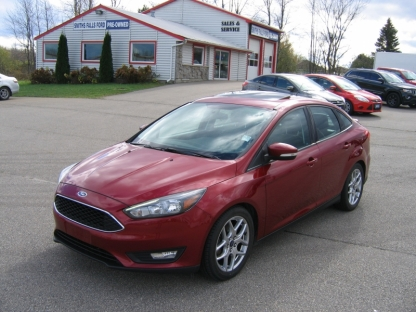 2015 Ford Focus SE at A&B Ford in Perth, Ontario
