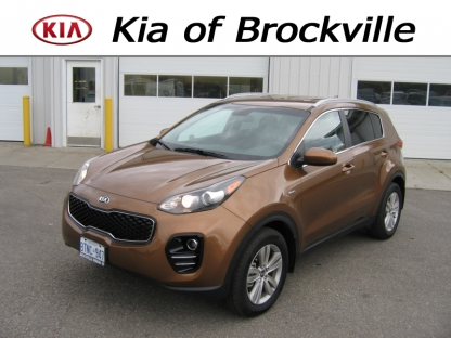 2017 KIA Sportage AWD at Kia of Brockville in Brockville, Ontario