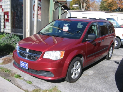 2015 Dodge Grand Caravan at Clancy Motors in Kingston, Ontario