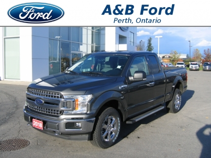 2018 Ford F-150 XLT XTR SuperCab 4x4 at A&B Ford in Perth, Ontario