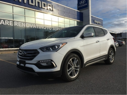 2017 Hyundai Santa FE Sport 2.0T Limited AWD *Navigation-Leather* at Kingston Hyundai in Kingston, Ontario