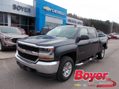2018 Chevrolet Silverado 1500 LS Crew Cab 4X4 at Boyer GM Bancroft in Bancroft, Ontario