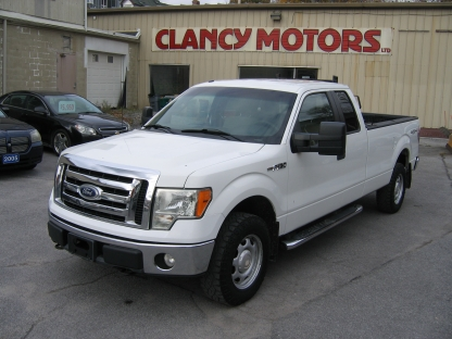 2010 Ford F-150 XLT SuperCab Long Box 4x4 at Clancy Motors in Kingston, Ontario