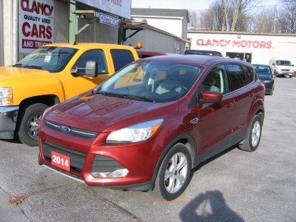 2014 Ford Escape SE EcoBoost at Clancy Motors in Kingston, Ontario