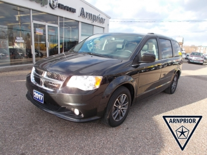2017 Dodge Grand Caravan SXT Plus Stow-N-Go Seating at Arnprior Chrysler in Arnprior, Ontario