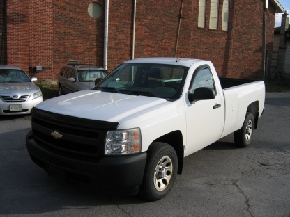 2008 Chevrolet Silverado 2500 Reg Cab Long Box at Clancy Motors in Kingston, Ontario