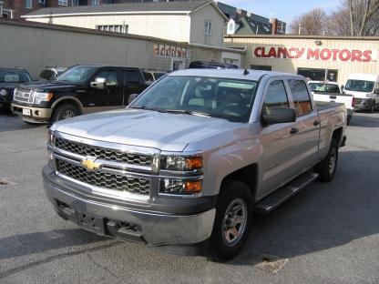 2014 Chevrolet Silverado 1500 Crew Cab 4x4 at Clancy Motors in Kingston, Ontario