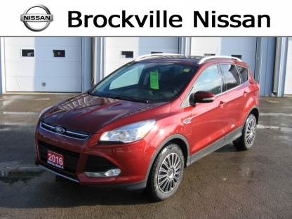 2016 Ford Escape Titanium EcoBoost AWD at Brockville Nissan in Brockville, Ontario