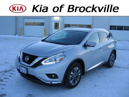 2016 Nissan Murano SL AWD at Kia of Brockville in Brockville, Ontario