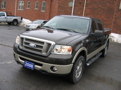 2008 Ford F-150 King Ranch SuperCrew 4x4 at Clancy Motors in Kingston, Ontario