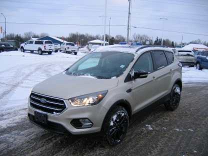 2018 Ford Escape Titanium Sport EcoBoost AWD at A&B Ford in Perth, Ontario