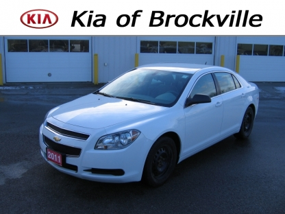 2011 Chevrolet Malibu LS at Kia of Brockville in Brockville, Ontario