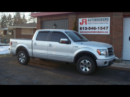 2013 Ford F-150 FX4 EcoBoost Crew Cab 4X4 - Sharp Truck! at JR Autobrokers in Elginburg, Ontario