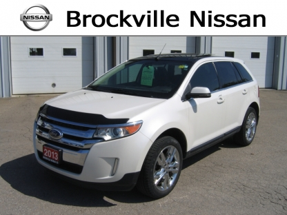 2013 Ford Edge Limited AWD at Brockville Nissan in Brockville, Ontario
