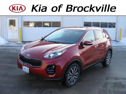 2018 KIA Sportage EX AWD at Kia of Brockville in Brockville, Ontario