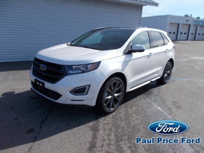 2018 Ford Edge Sport AWD at Paul Price Ford in Bancroft, Ontario