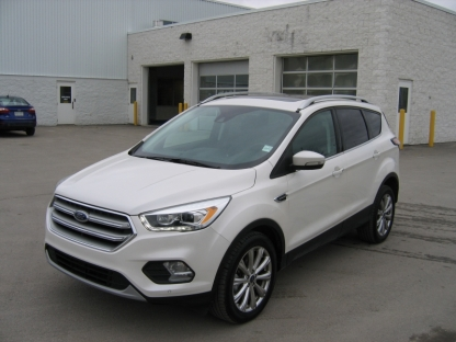 2017 Ford Escape Titanium EcoBoost AWD at A&B Ford in Perth, Ontario