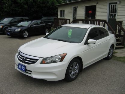 2012 Honda Accord SE at St. Lawrence Automobiles in Brockville, Ontario