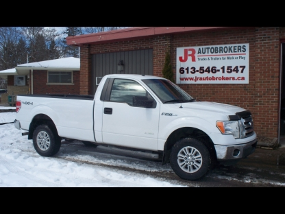 2012 Ford F-150 Ecoboost XLT 4X4 Regular Cab Long Box at JR Autobrokers in Elginburg, Ontario