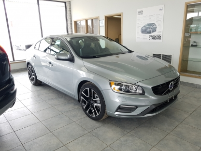 2018 Volvo S60 at Van Herpt Volvo in Kingston, Ontario