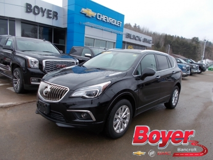 2018 Buick Envision Essence AWD at Boyer GM Bancroft in Bancroft, Ontario