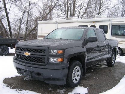 2015 Chevrolet Silverado 1500 Crew Cab 4x4 at Tom Pirie Motor Sales in Smiths Falls, Ontario