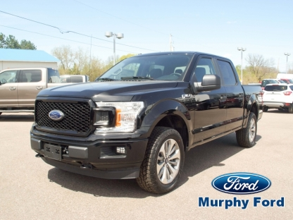 2018 Ford F-150 STX Super Crew 4x4 at Murphy Ford in Pembroke, Ontario