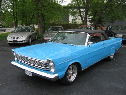 1965 Ford Galaxie 500 Convertible at Wright's Motors Perth in Perth, Ontario