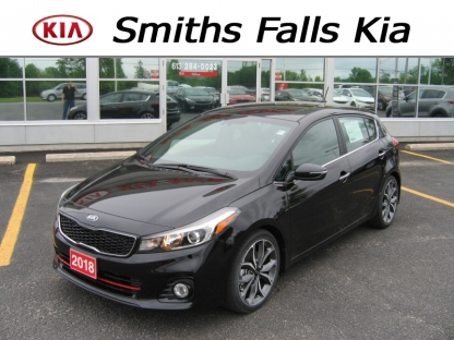 2018 KIA Forte 5 SX Turbo at Smiths Falls Kia in Smiths Falls, Ontario