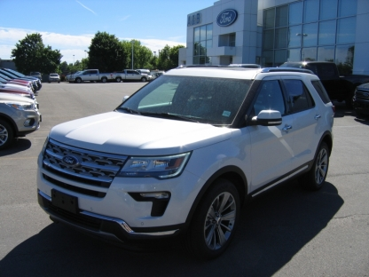 2018 Ford Explorer Limited AWD EcoBoost at A&B Ford in Perth, Ontario
