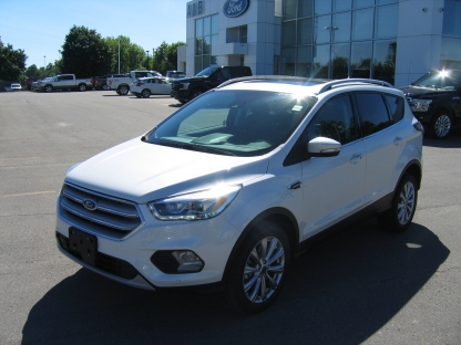 2018 Ford Escape Titanium EcoBoost AWD at A&B Ford in Perth, Ontario