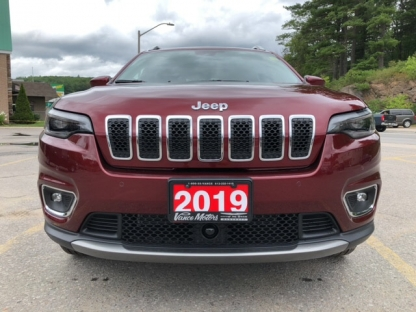 2019 Jeep New Cherokee Limited 4x4...nav*leather*htd Seats! at Vance Motors in Bancroft, Ontario