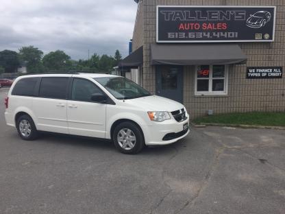 2012 Dodge Grand Caravan SE at Tallen's Auto Sales in Kingston, Ontario