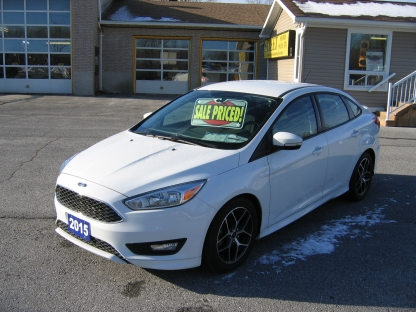 2015 Ford Focus SPORT PKG SE, AUTO, BACK UP CAMERA  at Street Motor Sales in Smiths Falls, Ontario
