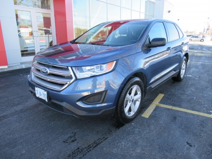 2018 Ford Edge EcoBoost AWD at Kia of Brockville in Brockville, Ontario