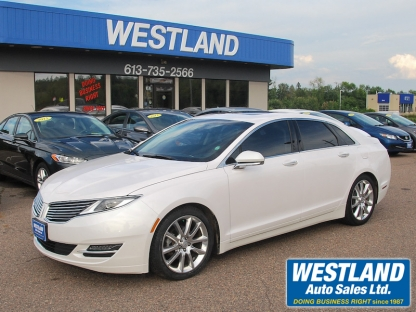 2016 Lincoln MKZ HYBRID at Westland Auto Sales in Pembroke, Ontario