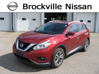 2016 Nissan Murano SL AWD at Brockville Nissan in Brockville, Ontario