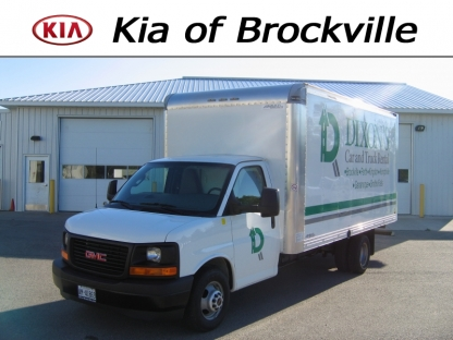 2017 GMC Cube Van 16ft at Kia of Brockville in Brockville, Ontario