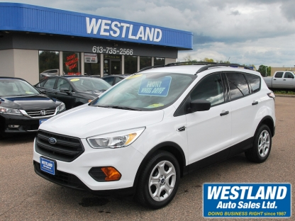 2017 Ford Escape s at Westland Auto Sales in Pembroke, Ontario