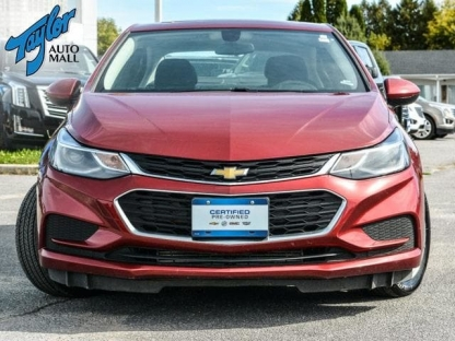 2018 Chevrolet Cruze LT  at Taylor Auto Mall in Kingston, Ontario