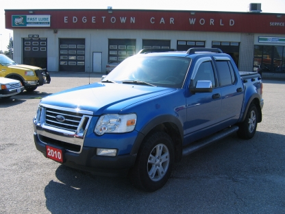 2010 Ford Explorer Sport Trac XLT 4x4 at Edgetown Motors in Smith's Falls, Ontario