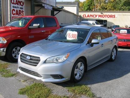 2015 Subaru Legacy AWD at Clancy Motors in Kingston, Ontario