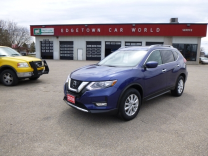 2018 Nissan Rogue SV AWD at Edgetown Motors in Smith's Falls, Ontario