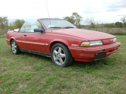1993 Pontiac Sunbird Convertible at Last Chance Auto Restore in Yarker, Ontario