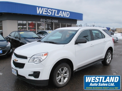 2012 Chevrolet Equinox at Westland Auto Sales in Pembroke, Ontario