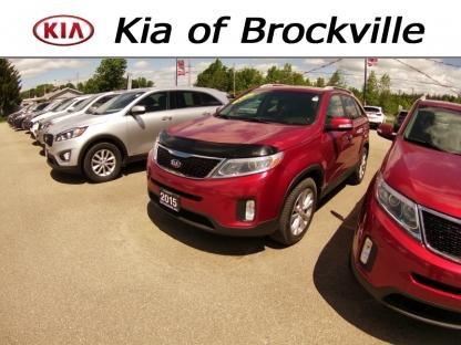 2015 Kia Sorento EX V6 AWD at Kia of Brockville in Brockville, Ontario
