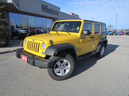 2015 Jeep Wrangler Unlimited Sport at Hinton Dodge Chrysler in Perth, Ontario